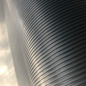 Rubber Flooring Ribbed